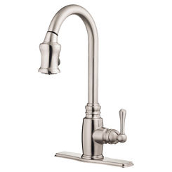 Click here to see Danze D454557SS Danze D454557SS Opulence Stainless Steel One Handle Pulldown Kitchen Faucet