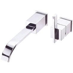 Click here to see Danze D216044 Danze D216044 Sirius Single Handle Wall Mount Lavatory Faucet, 2.5 GPM - Chrome