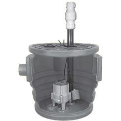 Click here to see Little Giant 511634 Little Giant 511634 Simplex Package System 24X24 Basin Pre-Assembled