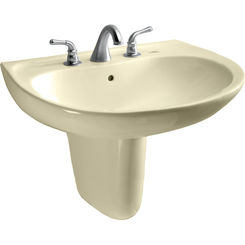 Click here to see Toto LHT241.4G#03 Toto LHT241.4G#03 Supreme 23 x 20 Bone Lavatory Sink and Shroud