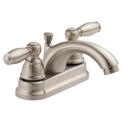Click here to see Peerless P299675LF-BN Peerless P299675LF-BN Two Handle Lavatory Faucet