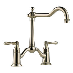 Click here to see Brizo 62436LF-PN Brizo 62436LF-PN Tresa Two Handle Bar/Prep Faucet