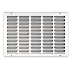 Click here to see Shoemaker 1050-18X10 18x10 Soft White Return Air Grille (Stamped from Cold Roll Steel) - Shoemaker 1050