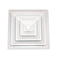Click here to see Shoemaker 100-8X8 Shoemaker 100 8 in X 8 in Step Down Ceiling Diffuser