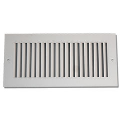 Click here to see Shoemaker 916-4X8 4X8 White Vent Cover (Aluminum) - Shoemaker 916 Series