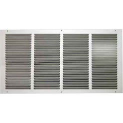 Click here to see Shoemaker 1050-30X10 30x10 Soft White Return Air Grille (Stamped from Cold Roll Steel) - Shoemaker 1050