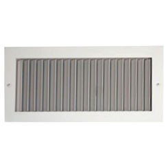 Click here to see Shoemaker 908-5X14 5x14 White Vent Cover (Aluminum) - Shoemaker 908