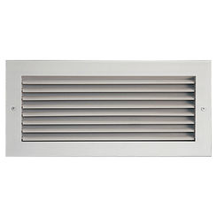 Click here to see Shoemaker 915-16X8 16X8 White Vent Cover (Aluminum) - Shoemaker 915 Series