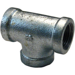 Click here to see Commodity  GALT12 Galvanized Tee, 1/2 Inch