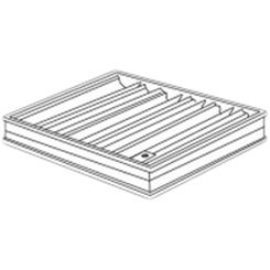 Click here to see Shoemaker 0BD-14X8 14X8 Opposed Blade Damper (Aluminum)-Shoemaker OBD Series