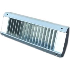 Click here to see Shoemaker USR52-10X6 10X6 White Vent Cover (Galvanized Steel)-Shoemaker USR52 Series