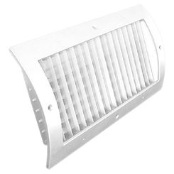 Click here to see Shoemaker RS34-SC-12X4G 12X4 White Vent Cover (Galvanized)-Shoemaker RS34-SC-GALV Series