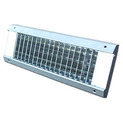 Click here to see Shoemaker USR34-20X6 20X6 White Vent Cover (Galvanized Steel)-Shoemaker USR34 Series