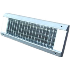 Click here to see Shoemaker USR34-SC-24X4 24X4 White Vent Cover (Galvanized Steel)-Shoemaker USR34-SC Series