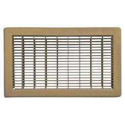 Click here to see Shoemaker 1600-R-28X34 28x34 Driftwood Tan Vent Cover (Steel Honeycomb Construction) - Shoemaker 1600R