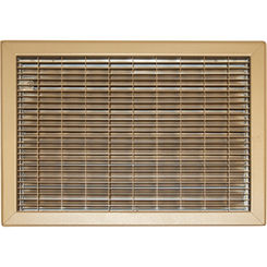 Click here to see Shoemaker 1550-R-22X36 22X36 Driftwood Tan Vent Cover (Steel) - Shoemaker 1550-R Series