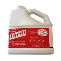Click here to see Thrift T-600 Thrift T-600 Odorless Non-Acidic Drain Cleaner, 6 lb