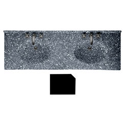Click here to see Swanstone CH2B2273BL.012 Swanstone CH2B2273BL-012 Chesapeake Beveled Edge Night Sky Vanity Top