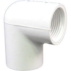 Click here to see Commodity  3/4-Inch PVC 90-Degree Elbow - Slip x Threaded, Schedule 40