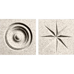 Click here to see Swanstone TC00404.046 Swanstone TC-0404TR-046 Almond Galaxy Rosettes For Swanstone Panels - 2