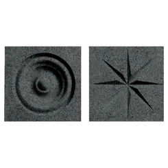 Click here to see Swanstone TC00404.071 Swanstone TC-0404TR-071 Indian Grass Rosettes For Swanstone Panels - 2
