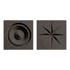 Click here to see Swanstone TC00404.124 Swanstone TC-0404TR-124 Canyon Rosettes For Swanstone Panels - 2
