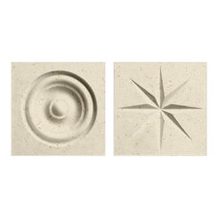 Click here to see Swanstone TC00404.169 Swanstone TC-0404TR-169 Caraway Seed Rosettes For Swanstone Panels - 2