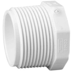 Click here to see Commodity  Schedule 40 PVC 2-1/2 Inch Threaded Plug