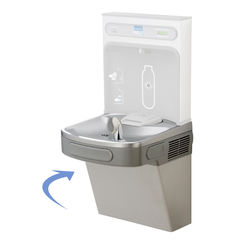 Click here to see Elkay LZS8WSL Elkay LZS8WSL Single ADA Cooler - Filtered, 8 GPH, Light Gray