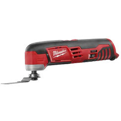 Click here to see Milwaukee 2426-20 Milwaukee 2426-20 Cordless Oscillating Multi-Tool, 12 VAC, Lithium Ion, 5000 - 20000 Opm