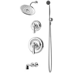 Click here to see Symmons 5406 Symmons 5406 Chrome Degas Series Tub/Shower/Hand Shower System