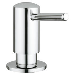 Click here to see Grohe 40536000 Grohe 40536000 Contemporary Soap Dispenser - Starlight Chrome