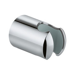 Click here to see Grohe 28605000 Grohe 28605000 Relexa Wall Hand Shower Holder in StarLight Chrome