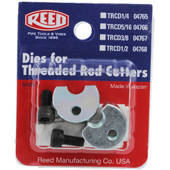 Click here to see Reed TRCD3/8 Reed Manufacturing TRCD3/8 Replacement Dies 3/8