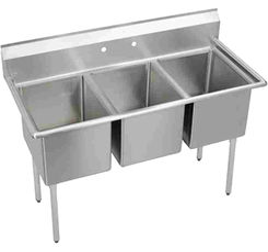 Click here to see Elkay E3C16X20-0X Elkay E3C16X20-0X Triple Bowl Economy Series Sink