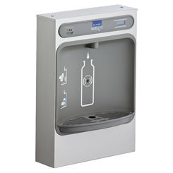 Click here to see Elkay LZWSSM Elkay LZWSSM ezH2O Surface Mount Bottle Filling Station - Non-Refrigerated, Filtered, Stainless