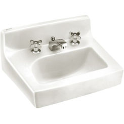 Click here to see American Standard 0373.050.020 American Standard 0373.050.020 Penlyn Wall-Mount Sink, White