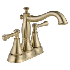 Click here to see Delta 2597LF-CZMPU Delta 2597LF-CZMPU Cassidy Champagne Bronze Two Handle Lavatory Faucet