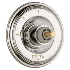 Click here to see Delta T11897-PNLHP Delta T11897-PNLHP Cassidy 3-Function Diverter (less handle)-Polished Nickel