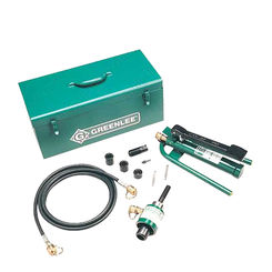Click here to see Greenlee 7606SB Greenlee 7606SB Hydraulic Punch Set (1/2-2)