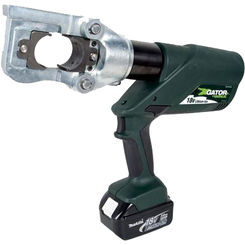 Click here to see Greenlee E12CCXL11 Greenlee E12CCXL11 Battery-Powered Gator Crimp Tool (12-ton)(120V Charger)