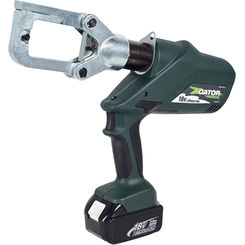Click here to see Greenlee ECCXL120 Greenlee ECCXL120 Battery-Powered Gator-Pro Crimp Tool (6-Ton)(120V AC Adapter)
