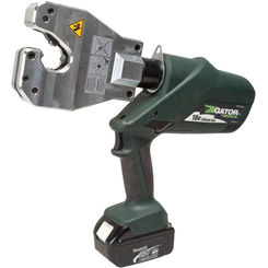 Click here to see Greenlee EK06ATCL120 Greenlee EK06ATCL120 Insulated Dieless Battery-Powered Crimp Tool