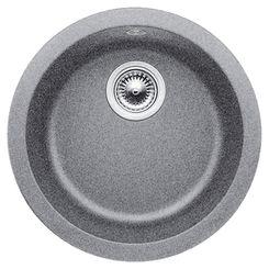 "Click here to see Blanco 513382 Blanco 513382 BlancoRondo Metallic Gray 6-5/8"" Deep Bar Bowl Dual-Mount Sink"