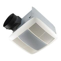 Click here to see Broan QTXEN110FLT Broan-NuTone QTXEN110FLT 110 CFM Ventilation Fan/Light