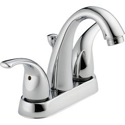Click here to see Peerless P299695LF-W Peerless P299695LF-W Chrome Two-Handled Lavatory Faucet