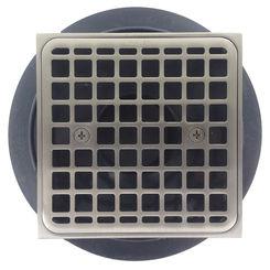 Click here to see Kohler 9136-BN Kohler K-9136-BN Tile-In Square Shower Drain, Brushed Nickel