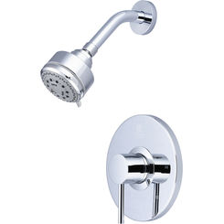 Click here to see Pioneer 4MT300T Pioneer 4MT300T Single-Handle Shower Trim Set in a  Classic Chrome Finish