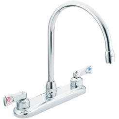 Click here to see Moen 8287 Moen Commercial 8287 Two Handle Kitchen Faucet