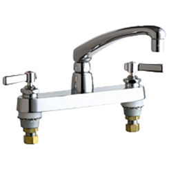 Click here to see Chicago Faucet 1100-E35-369ABCP Chicago Faucets 1100-E35-369ABCP Hot and Cold Sink Faucet